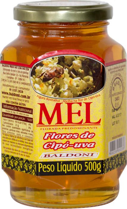 MEL FLORES DE CIPÓ-UVA POTE 500G