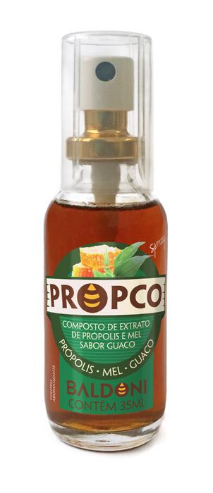 PROPCO SPRAY DE PRÓPOLIS MEL E GUACO