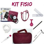 Kit Fisioterapia - PAMED  - Bordô/ Vinho