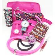 KIT PINK - Relógio pink brinde!