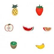 Pin - Frutas - Conj com 7 unidades
