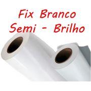 Vinil Fix Branco Semi Brilho 0,08 rolo 50m