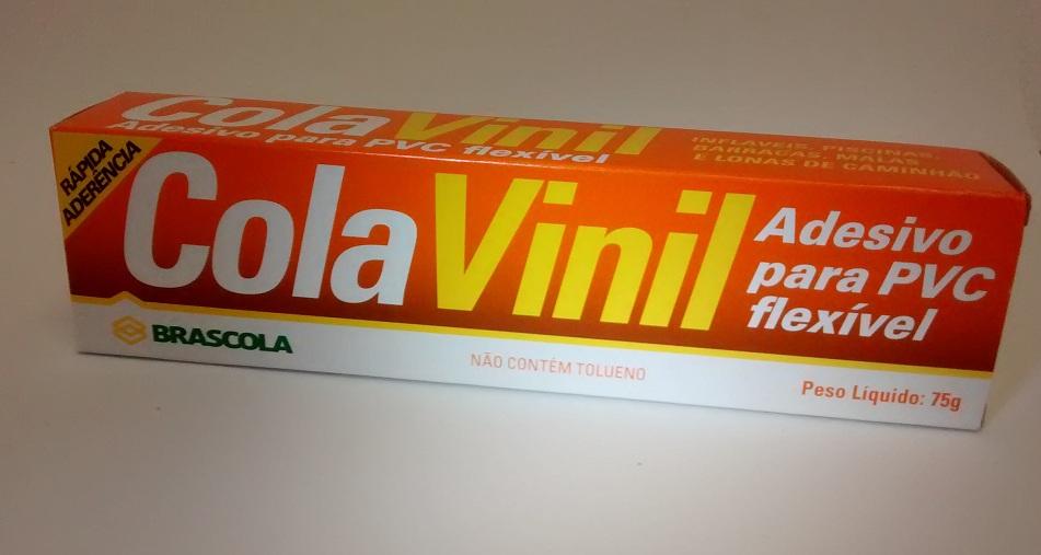 Cola Vinil bisnaga 75g