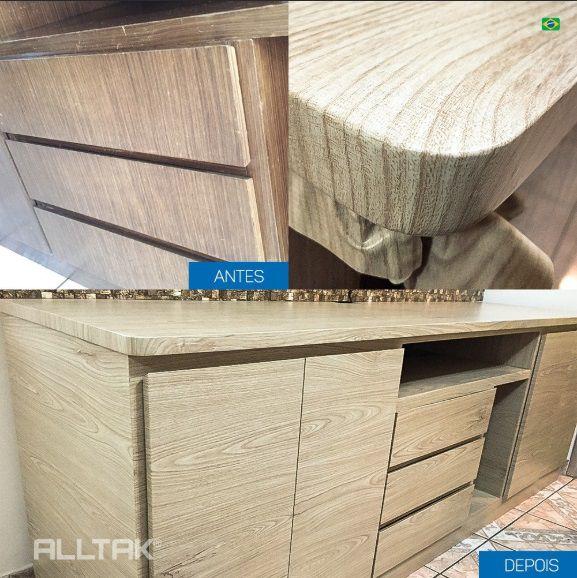 Vinil Adesivo Wood Decor larg 1,22m