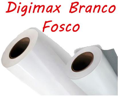 Vinil Digimax Branco Fosco 0,08 rolo 50m