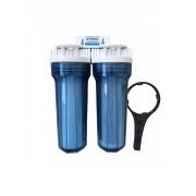 Filtro Agua Purificador Duplo Transparente