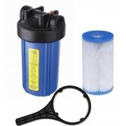 Filtro de água Entrada - Poço - POE 10 x 4.1/2 (Big 10) Plissado
