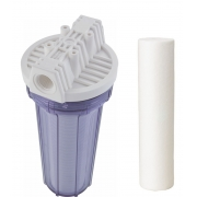 Filtro de água Entrada - POE 10 x 2.1/2 Transparente PP