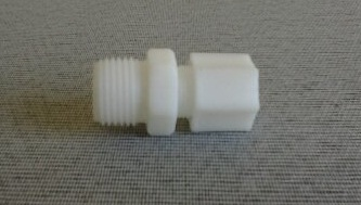 Conector Nylon Rosca 1/2 pol. Mangueira 1/4 pol.