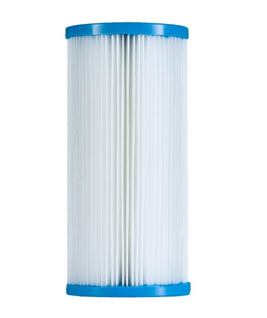 Elemento filtrante plissado 10 x 4.1/2 - 50 micras