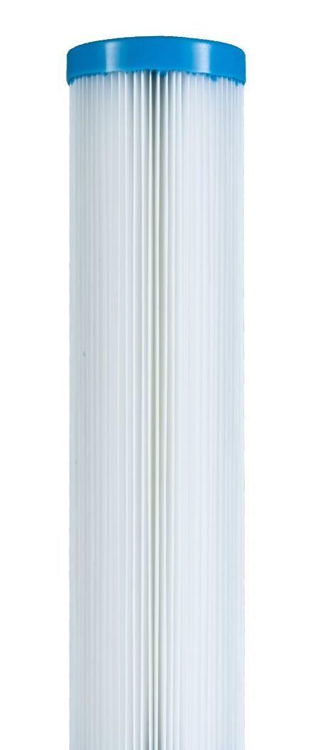 Elemento filtrante plissado 20 x 2.1/2 - 1 micra