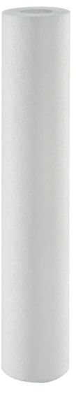 Elemento filtrante polipropileno 20 x 2.1/2 - 1 micra
