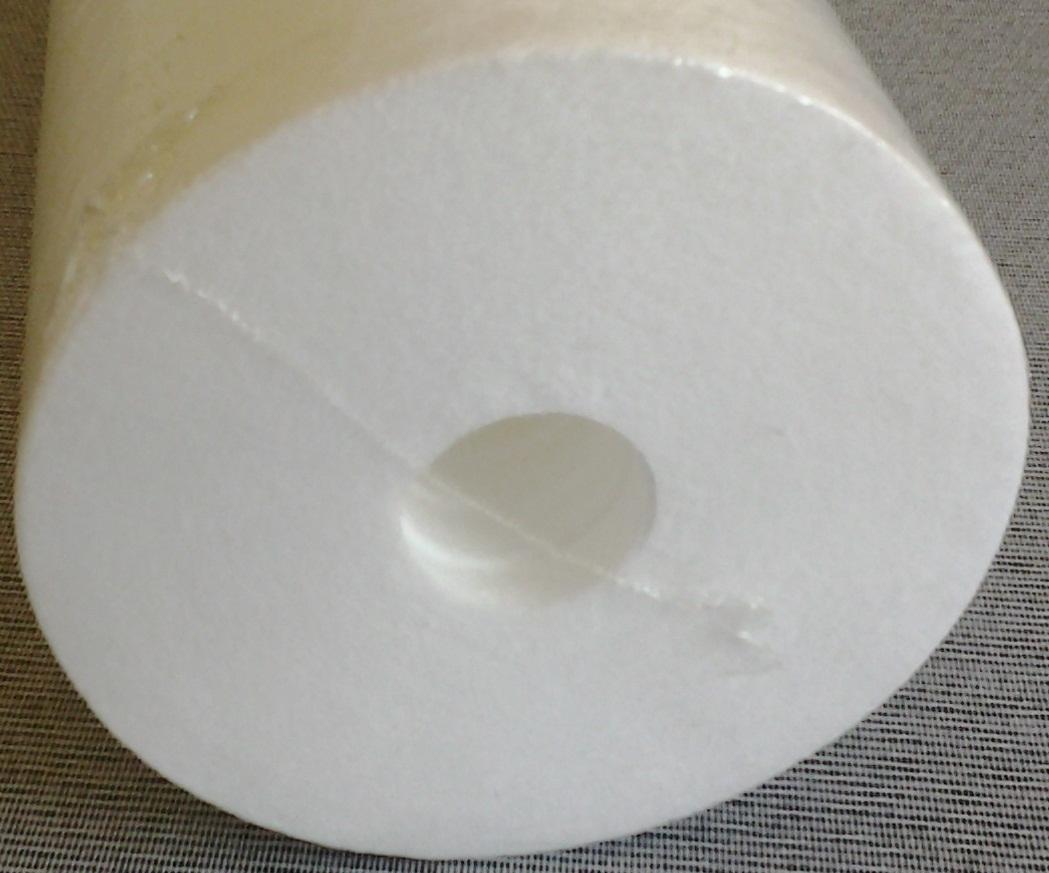 Elemento filtrante polipropileno 20 x 4.1/2 - 5 micras