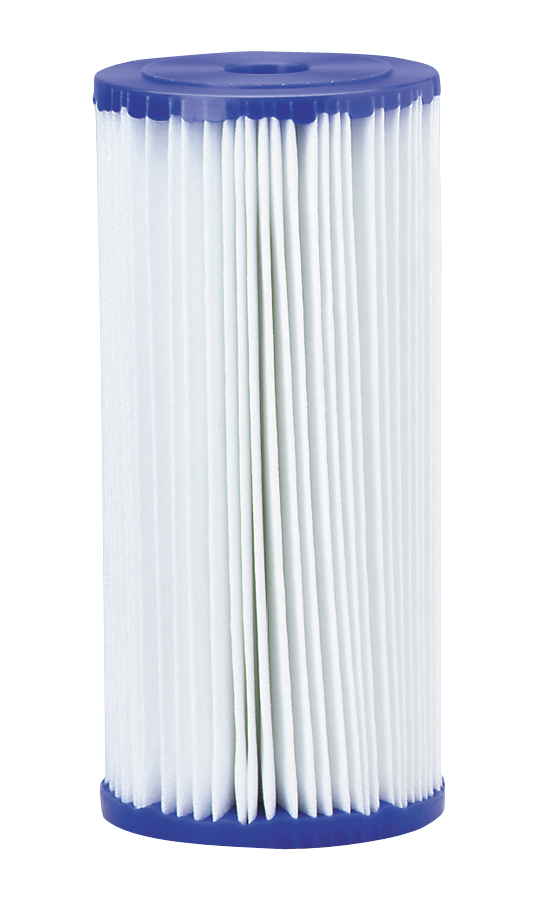 Elemento filtrante / Refil / Cartucho plissado 10 x 4.1/2 - 20 micras