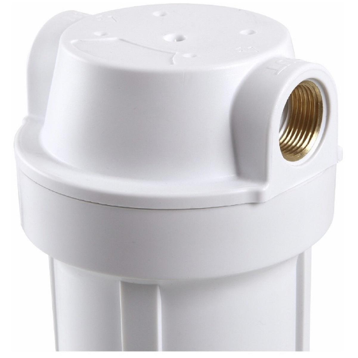 Filtro de água de Entrada de Caixa Dágua Duplo Polipropileno Plissado 10 Branco