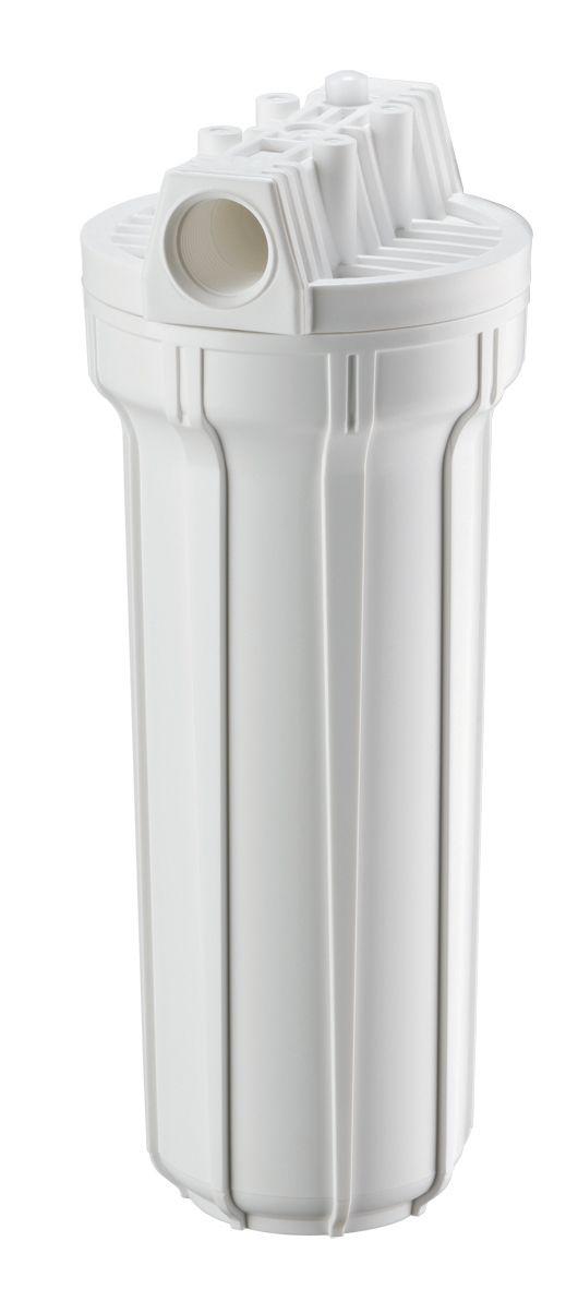 Filtro de água POE 10 x 2.1/2 Branco PP // Para Entrada-caixa dágua + 03 Refis Extras