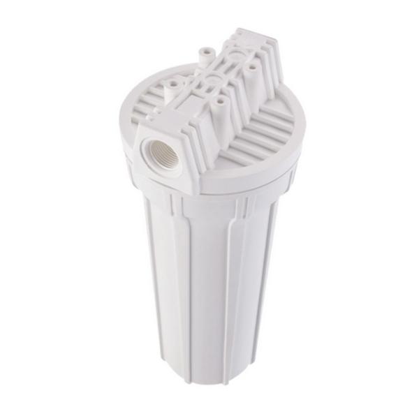 Filtro de água POU 10 x 2.1/2 Branco PP 0,5 Micras Completo