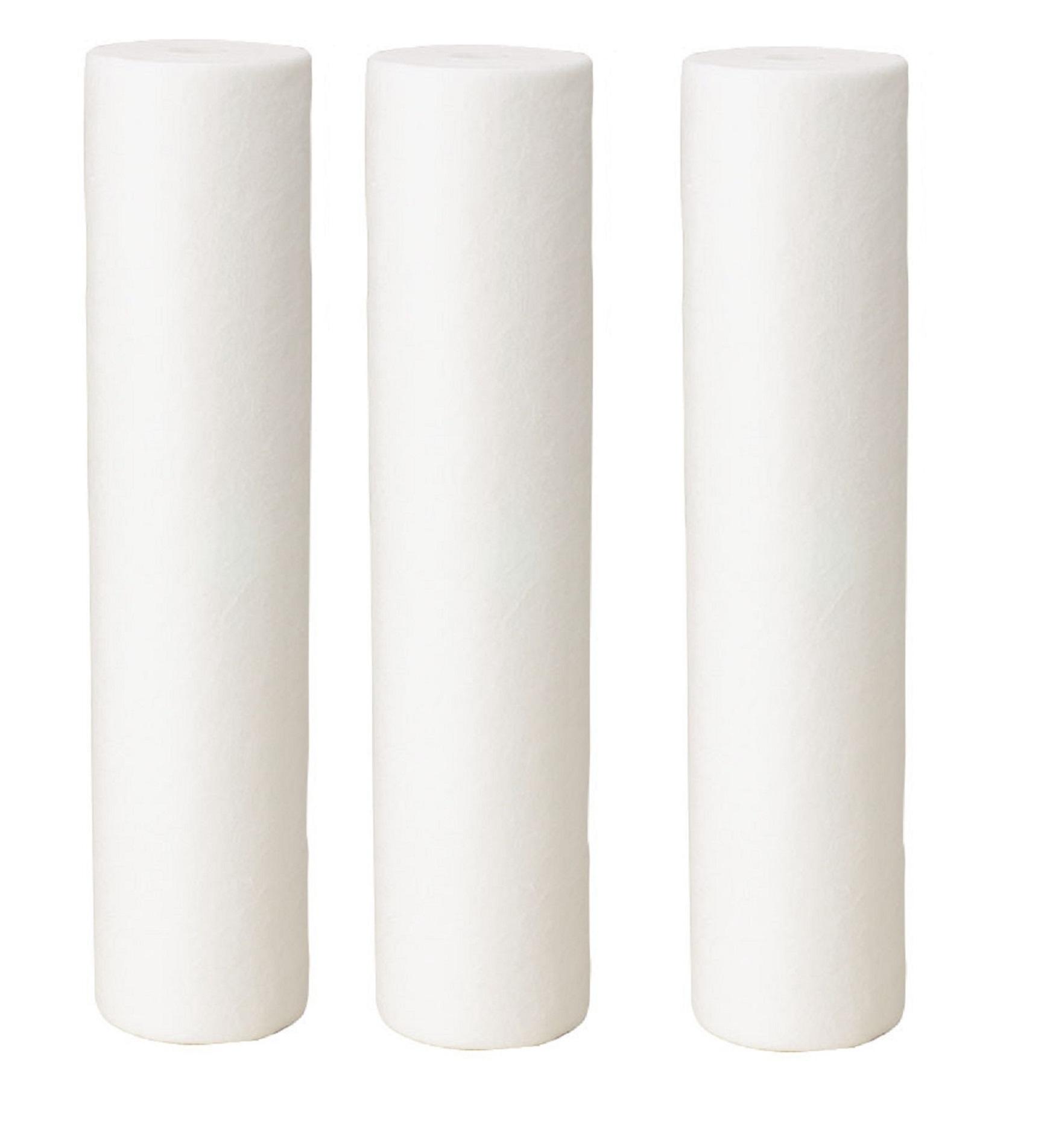 Filtro de água Triplo para Entrada / Cavalete ou Caixa Dágua - POE 10 x 2.1/2 BR