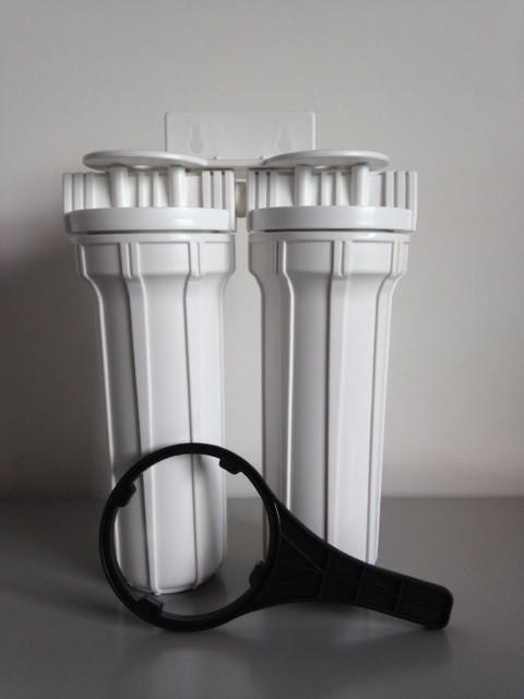 Filtro Duplo para fabricação de cachaça artesanal - Branco - FD 10 BR CH
