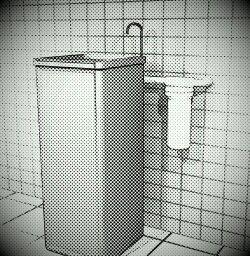 Filtro POU 10 x 2.1/2 - Carvão Ativado - Branco