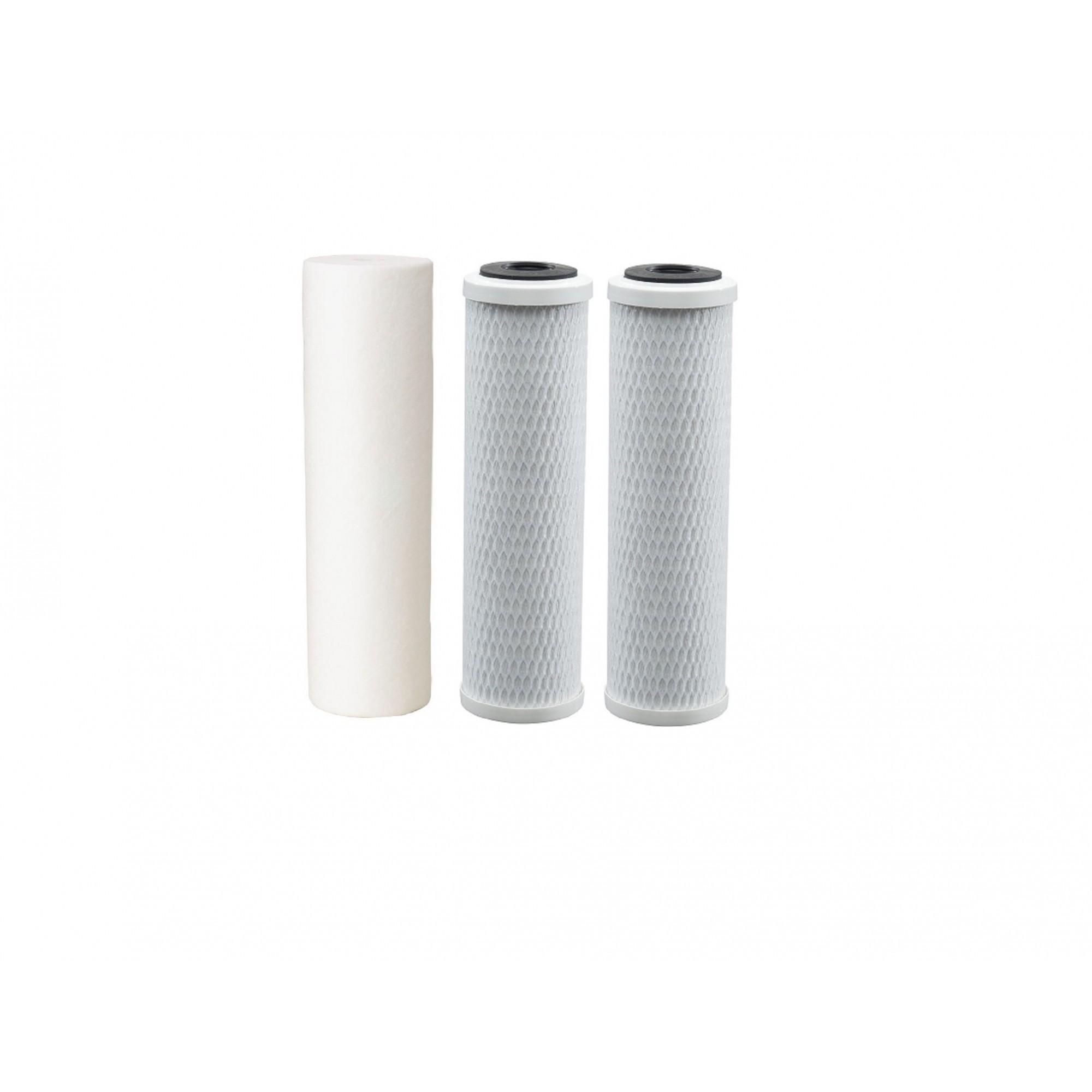 Kit Filtro Triplo para filtragem de água para fabricação de cerveja artesanal TR/BR - 10