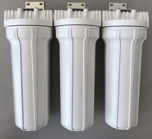Kit Filtro Triplo para filtragem de cerveja artesanal - Branco - 10 - PROMOÇÃO!