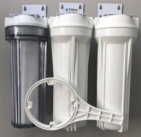 Kit Filtro Triplo para filtragem de cerveja artesanal TR/BR - 10 - PROMOÇÃO!