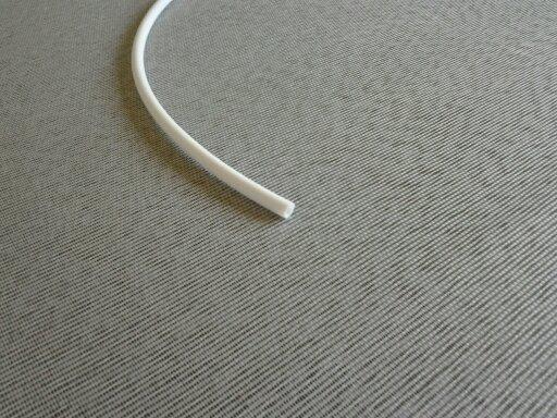 Mangueira Atóxica Branca de 1/4 polegada