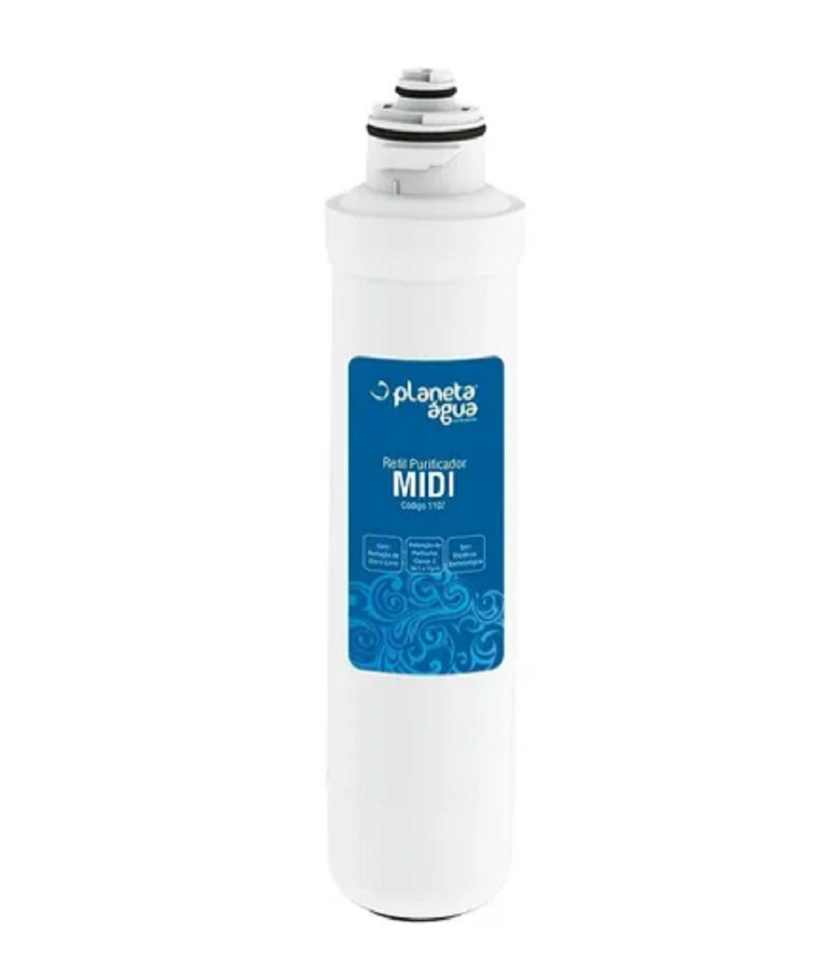 Refil Filtro Purificadores Água Midea Sensia Liva Compatível