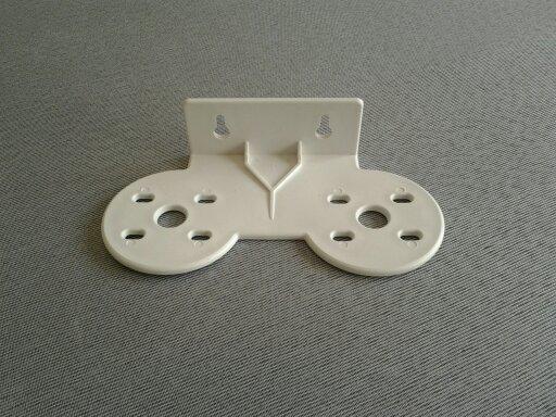 Suporte para fixação Modelo Duplo / Plástico