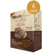 Marita Cookies Premium Cacau - 40g (6 Caixas)