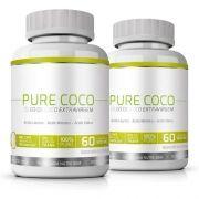 Pure Coco Óleo de Coco Extra Virgem 100% Puro Emagrecedor - 02 Potes