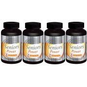 Seniors Power - Original -1000mg | Estimulante Sexual Masculino | 04 Potes
