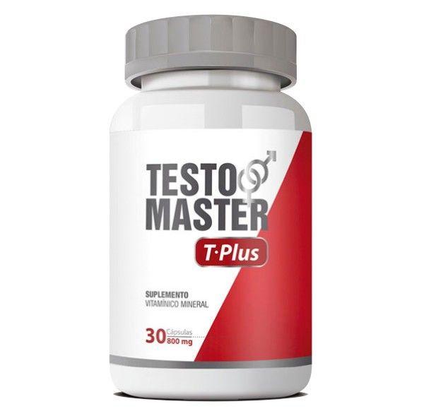 Testomaster T-Plus |Original| Estimulante Sexual -  01 Pote  - Natural Show - Produtos Naturais, Suplementos e Cosméticos