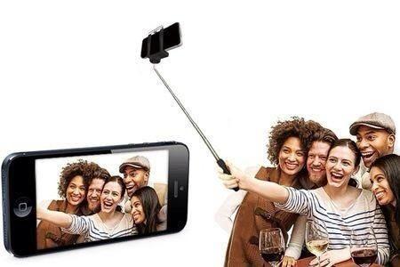 Bastao Pau de Selfie Monopod Retr�til para Celular Iphone Samsung Motorola Nokia Lg
