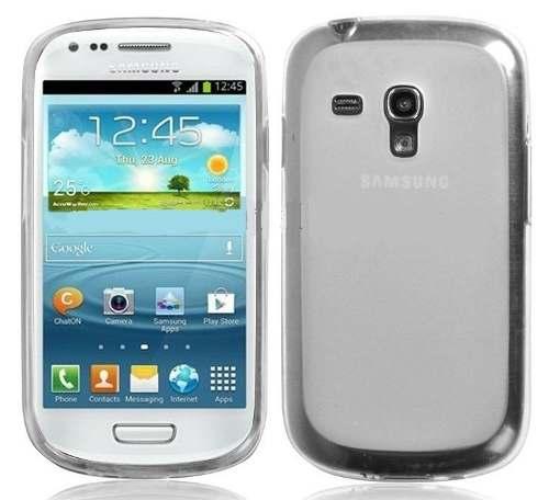 Capa Samsung Galaxy S3 Mini Flexível Transparente