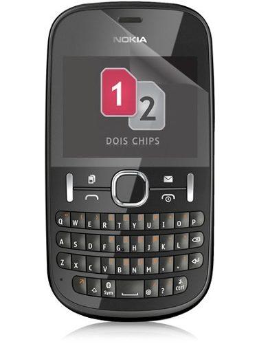 Película Nokia Asha N200 Transparente Anti Riscos