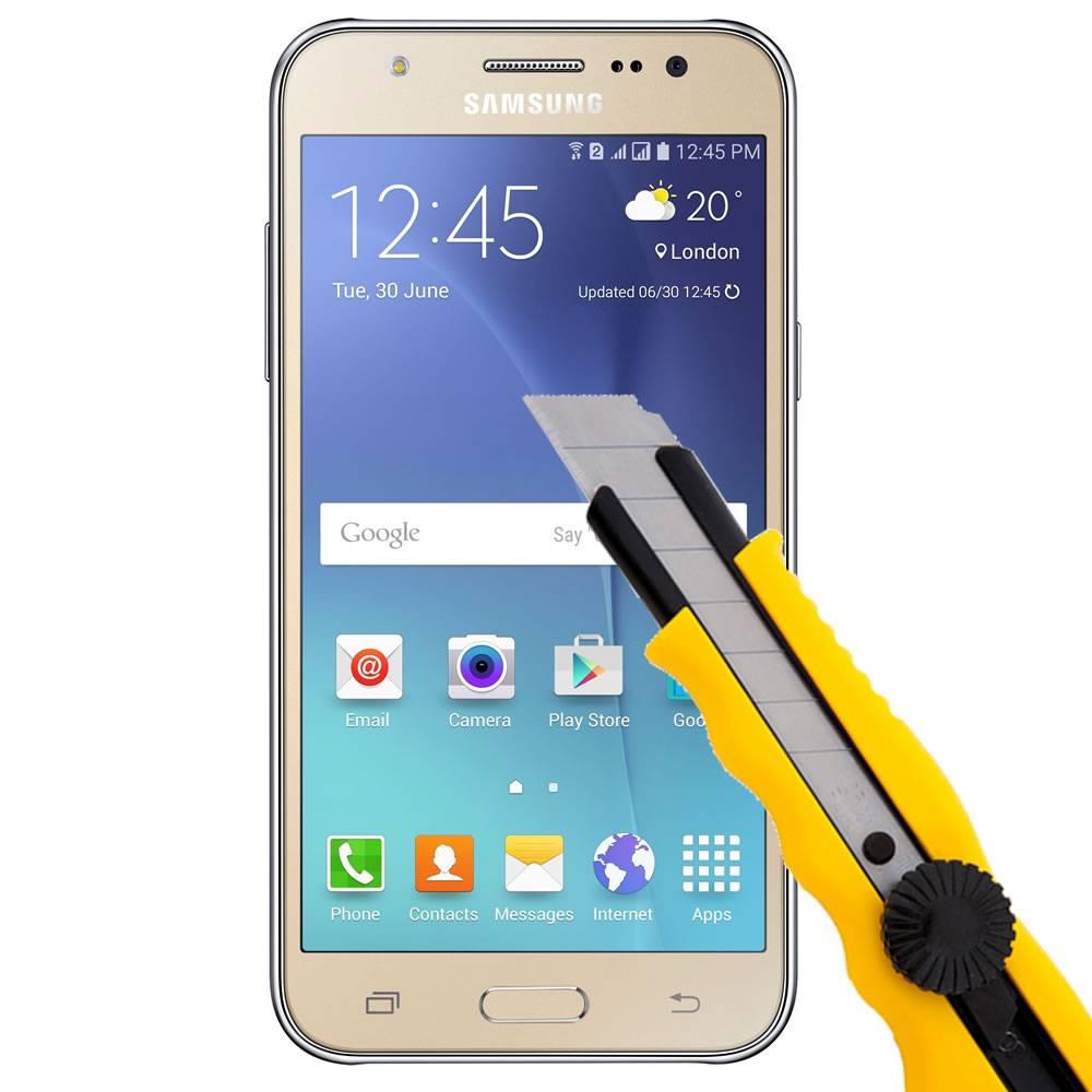 Película de Vidro Samsung Galaxy J5 2016 Tela 5.2 Anti Impacto