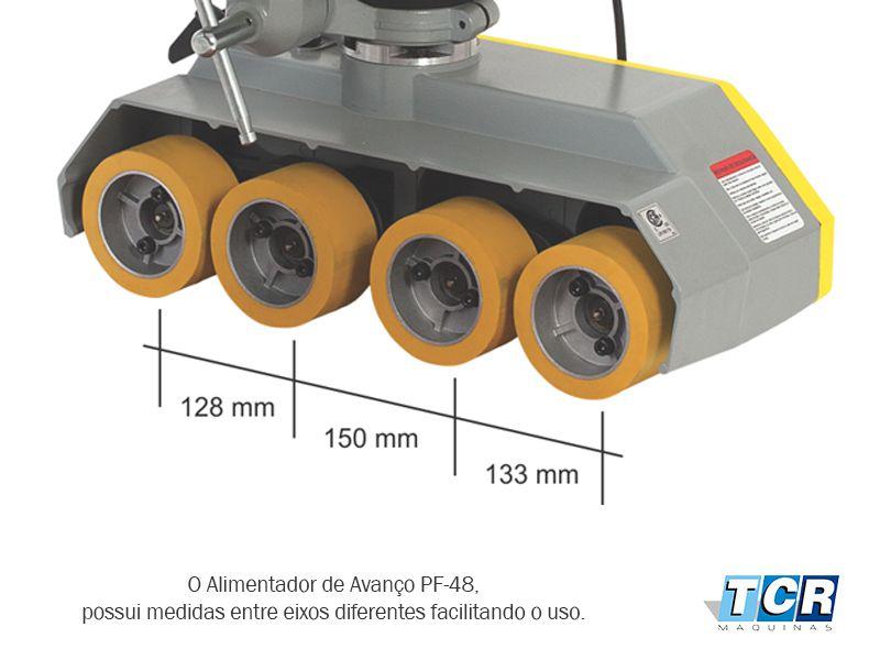 ALIMENTADOR DE AVANÇO 4 RODAS INMES