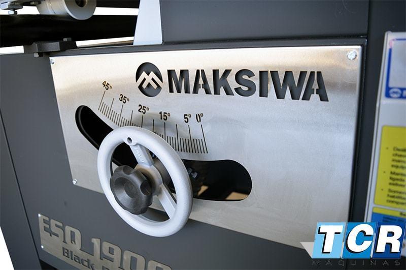 Esquadrejadeira Maksiwa 1900i  Guia Aluminio