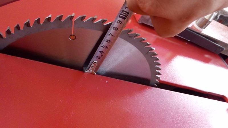 Esquadrejadeira SP3000i Eixo Inclinado Guia Aluminio