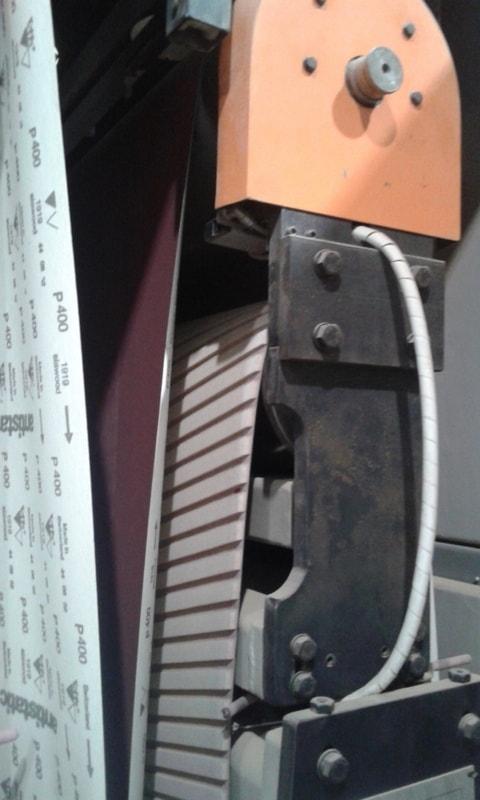 Lixadeira 3 Bandas Larga
