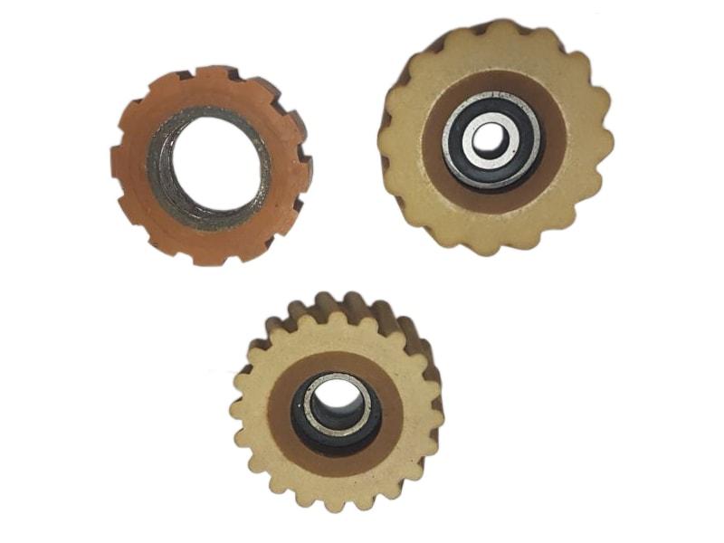 Roda / Roldana para Coladeira de Bordas