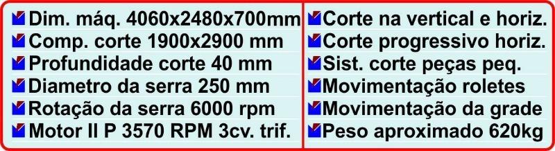 Seccionadora Vertical VE-4000