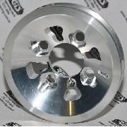 Polia AP Virabrequim em aluminio