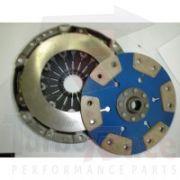 Conjunto de Embreagem AP Arrancada - Plato 1600lbs e Disco 6 Pastilhas s/ Molas