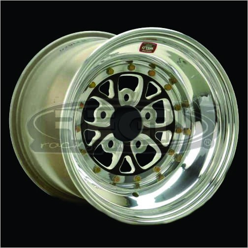WELD V-SERIES BLACK 15X8.25 (PAR)