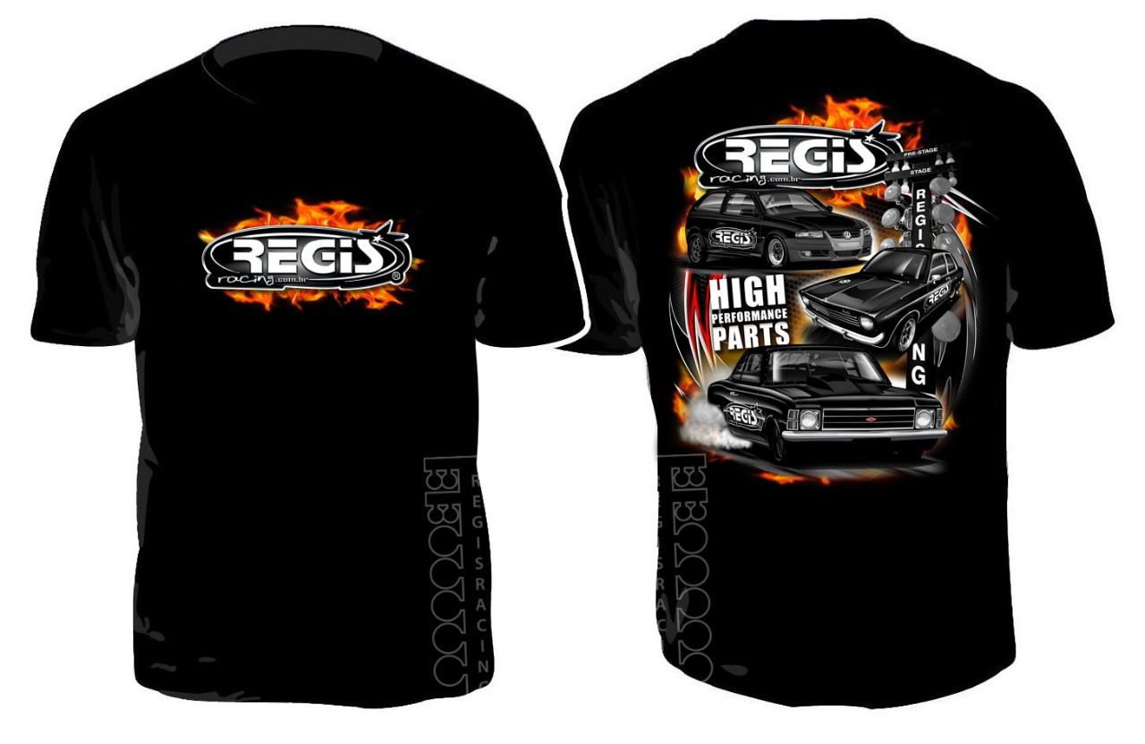 Camiseta Regis Racing NEW EDITION