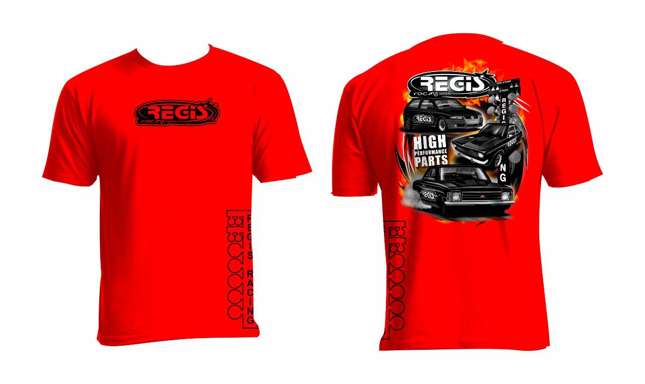 Camiseta Regis Racing NEW EDITION