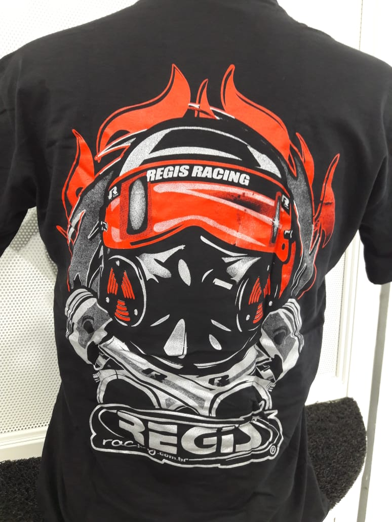 Camiseta Regis Racing Preta